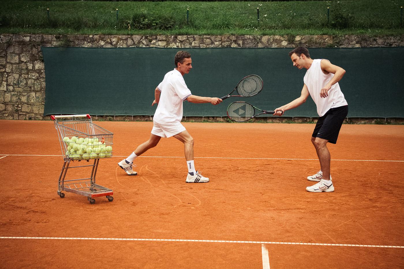 Tennis1A Einsteiger/Wiedereinsteiger/leicht Fortgeschrittenenkurs